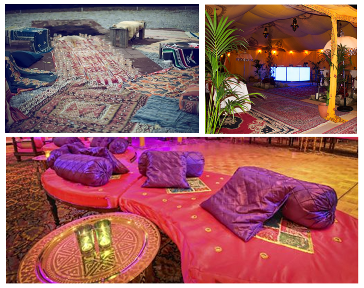 Ethnic Rugs for Wedding