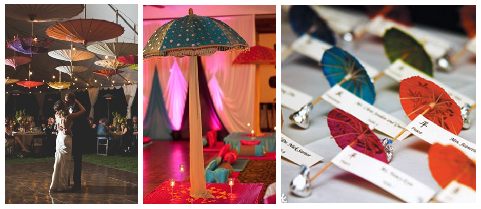Ethnic Umbrellas for Wedding