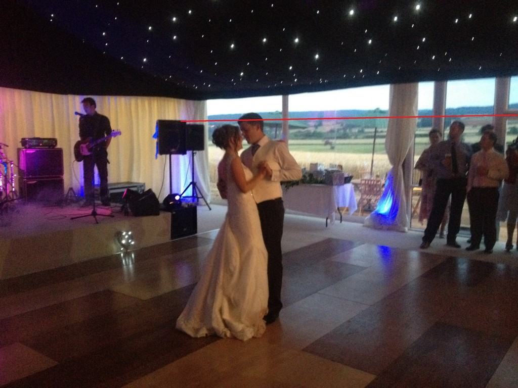 P and J first dance eave height example